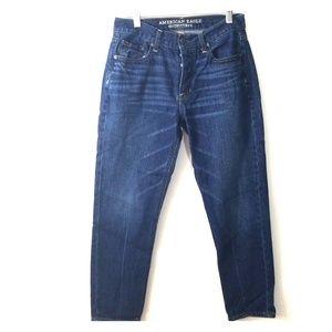 AEO vintage high rise dark wash jeans size 4
